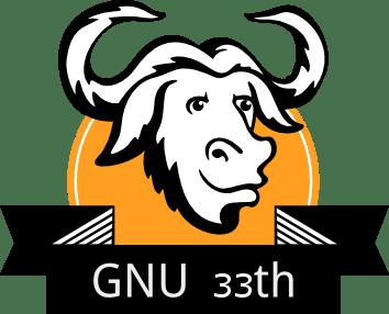 gnu_33th