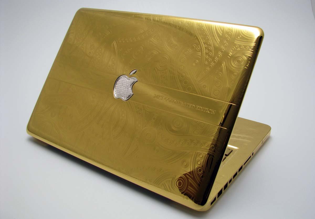 MacBook pro 24 Karat Gold