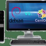 debian-vs-centos-on-desktop